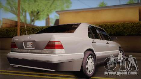 Mercedes-Benz S600 V12 Custom para GTA San Andreas left