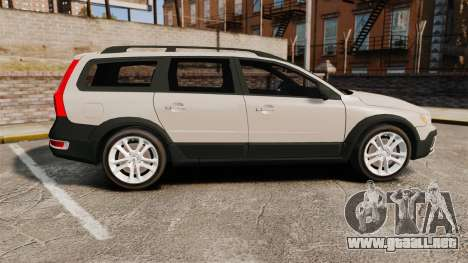 Volvo XC70 Stock para GTA 4 left