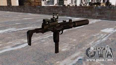 Subfusil Uzi Tactical para GTA 4 segundos de pantalla