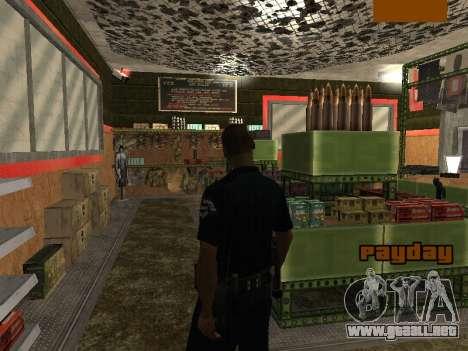 New lapd1 para GTA San Andreas sucesivamente de pantalla