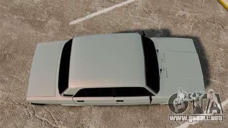 VAZ-2107 (LADA 2107) para GTA 4 visión correcta