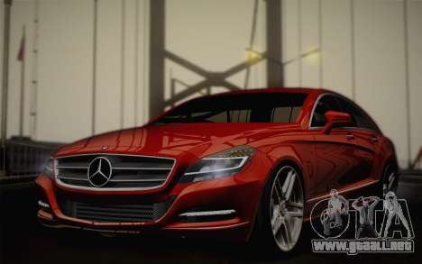Mercedes-Benz CLS 63 AMG 2012 Fixed para GTA San Andreas
