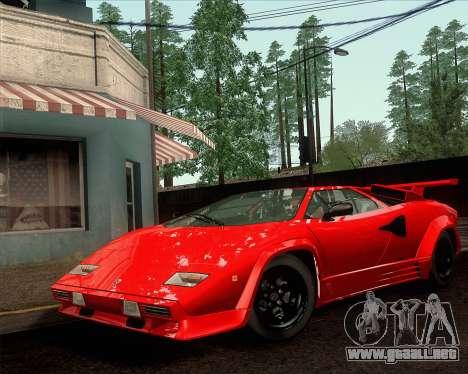 Lamborghini Countach LP500 Quattrovalvole 1988 para la visión correcta GTA San Andreas