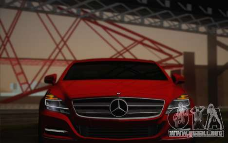 Mercedes-Benz CLS 63 AMG 2012 Fixed para la vista superior GTA San Andreas