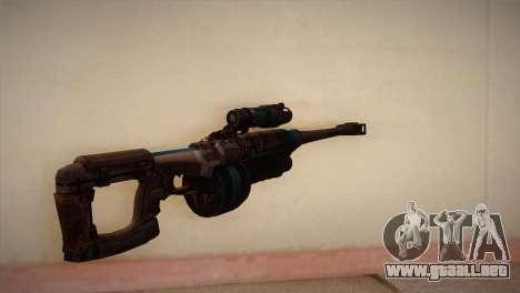 Rifle de francotirador de Bulletstorm para GTA San Andreas segunda pantalla