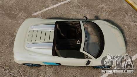 GTA V Obey 9F Spider para GTA 4 visión correcta