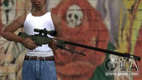 AWP from CS:GO para GTA San Andreas tercera pantalla