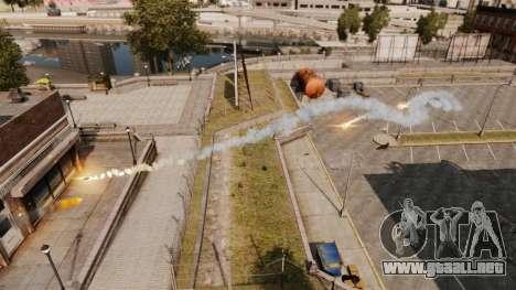 Lanzacohetes rápido para GTA 4 segundos de pantalla