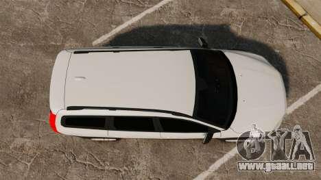 Volvo XC70 Unmarked [ELS] para GTA 4 visión correcta