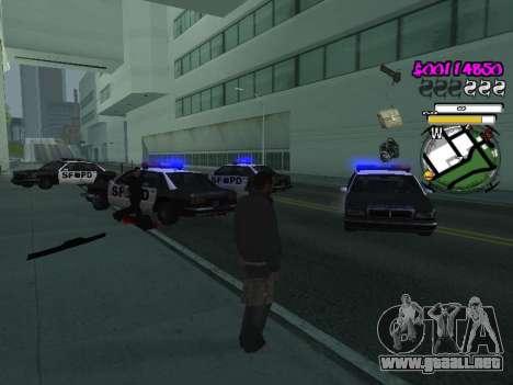 HUD para GTA San Andreas séptima pantalla