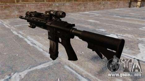 Automática Colt M4A1 carbine para GTA 4 segundos de pantalla