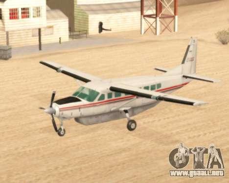 Cessna 208B Grand Caravan para GTA San Andreas