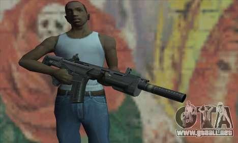 CICATRIZ de la CryENGINE 3 para GTA San Andreas tercera pantalla