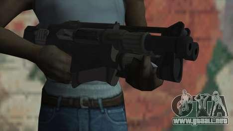 Rifle de Timeshift para GTA San Andreas tercera pantalla