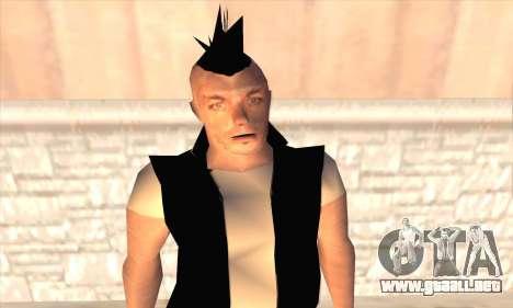 Till Lindemann para GTA San Andreas tercera pantalla