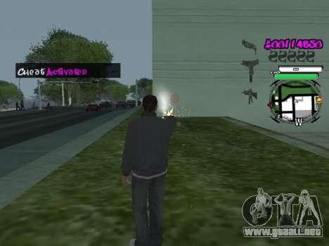 HUD para GTA San Andreas tercera pantalla