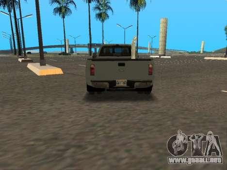 Ford F-350 para visión interna GTA San Andreas