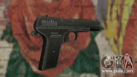 Pistola TT para GTA San Andreas tercera pantalla