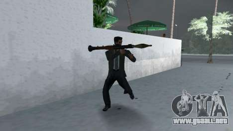 Armas Retekstur para GTA Vice City novena de pantalla