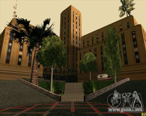 Nuevo Hospital HD para GTA San Andreas