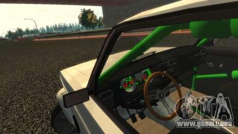 VAZ 2105 para GTA 4 vista superior