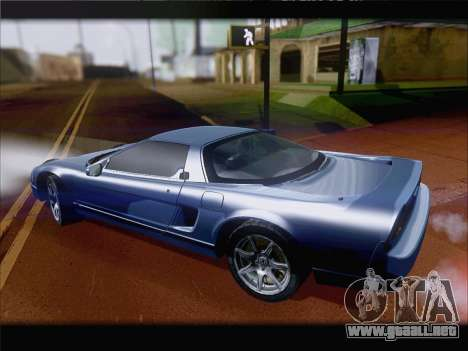 Acura NSX para visión interna GTA San Andreas