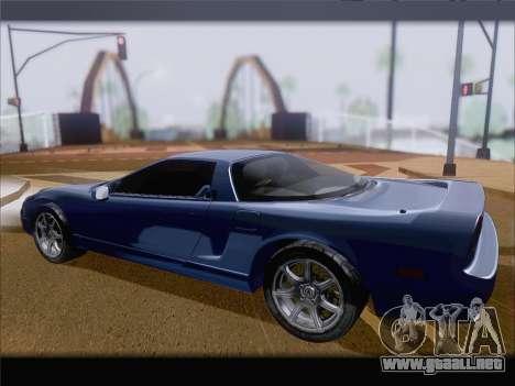 Acura NSX para la visión correcta GTA San Andreas