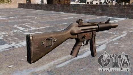 Ametralladora HK MP5A5 para GTA 4 segundos de pantalla
