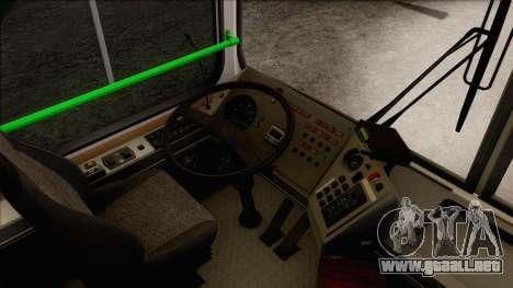LIAZ 5256.57 para visión interna GTA San Andreas