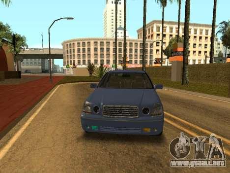 Toyota Progres para GTA San Andreas vista posterior izquierda
