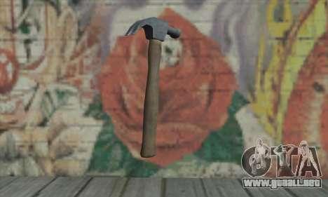 Martillo de GTA V para GTA San Andreas segunda pantalla