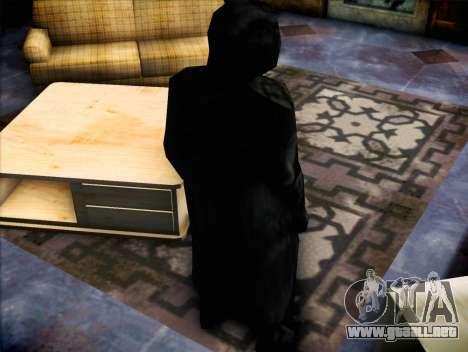 Maníaco de la película Scream para GTA San Andreas tercera pantalla