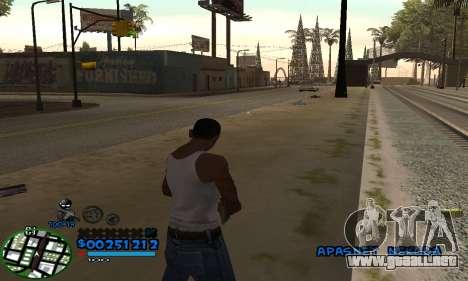 C-HUD CutHot para GTA San Andreas