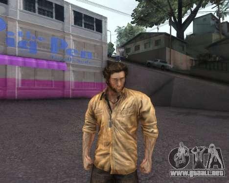 X-men Origins: Wolverine [Skins Pack] para GTA San Andreas tercera pantalla