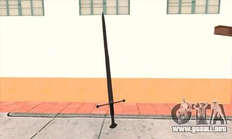 Sword Narsil para GTA San Andreas