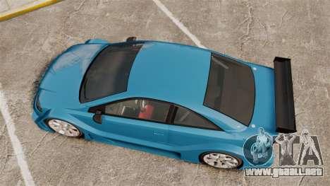 Opel Astra Coupe OPC Road Edition para GTA 4 visión correcta