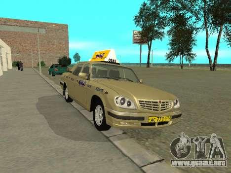 GAZ 31105 Volga Taxi para GTA San Andreas