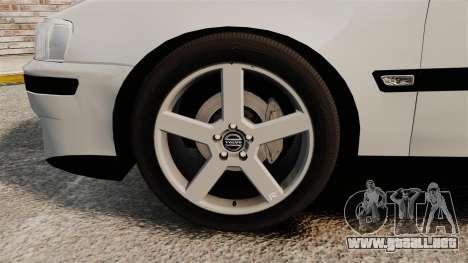 Volvo S60R para GTA 4 vista interior