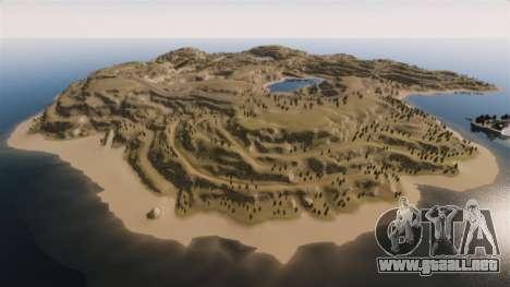 Cliffside ubicación Rally para GTA 4