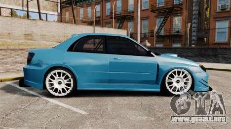 Subaru Impreza HD Arif Turkyilmaz para GTA 4 left
