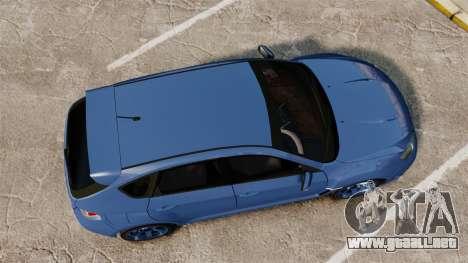 Subaru Impreza 2010 para GTA 4 visión correcta