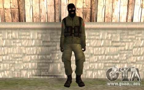 Terrorista chino para GTA San Andreas