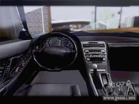 Acura NSX para GTA San Andreas interior