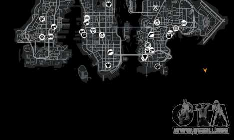 Ubicación de la carretera del desierto para GTA 4 sexto de pantalla