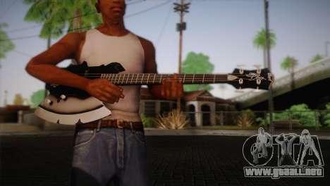 Guitarra, beso para GTA San Andreas tercera pantalla