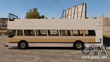 Bus turístico para GTA 4 left