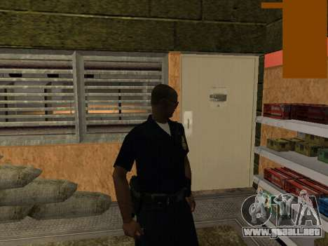 New lapd1 para GTA San Andreas segunda pantalla