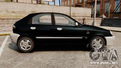 Daewoo Lanos Style 2001 Limited version para GTA 4 left