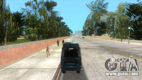 Kia Towner para GTA Vice City visión correcta