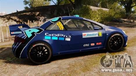 Peugeot 307 WRC para GTA 4 left